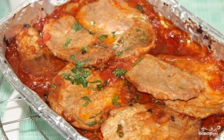 Мясо в томатном соусе - фото шаг 4
