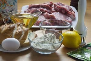 Мясо в панировке - фото шаг 1
