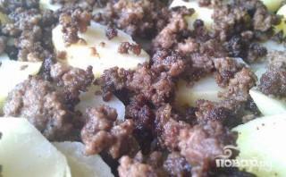 Картофельная запеканка с фаршем и сыром - фото шаг 2