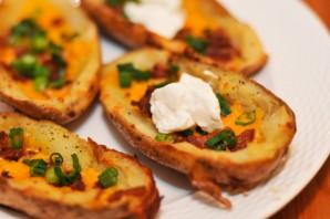 Картошка с салом на мангале - фото шаг 5