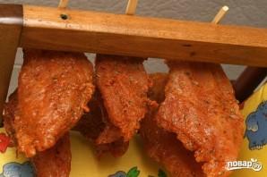 Салат с карпаччо из курицы - фото шаг 4