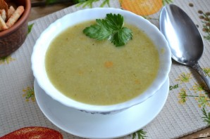 Суп-пюре из брокколи и цветной капусты - фото шаг 5