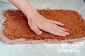 Шоколадные булочки с корицей в глазури - фото шаг 3