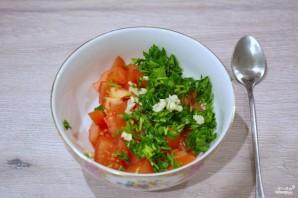 Жареный сулугуни с помидорами - фото шаг 5