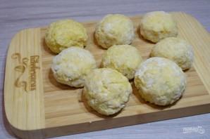Картофельные колобки с фаршем - фото шаг 8