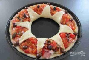 """Пицца """"Цветок"""" - фото шаг 8"""