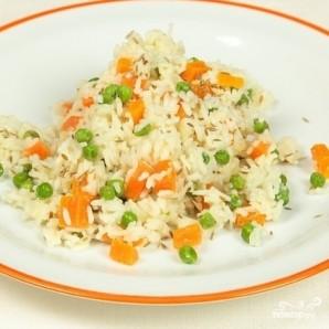 Рис с морковью и горошком - фото шаг 6