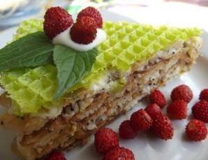 Вафельный торт без выпечки - фото шаг 5