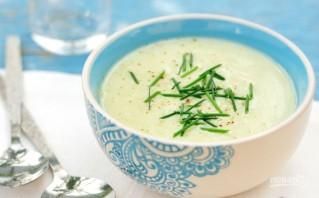 Холодный суп-пюре из кабачков - фото шаг 4