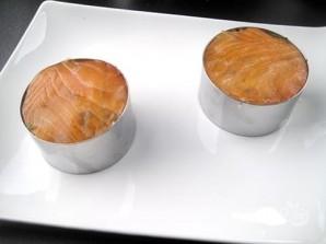 Закуска из краба и копченого лосося - фото шаг 8