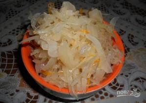 Начинка из квашеной капусты для пирожков - фото шаг 1
