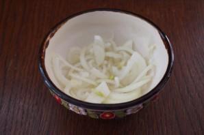 Салат из печени трески постный - фото шаг 2