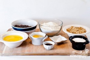 Печенье с шоколадом и ванилью - фото шаг 1