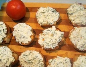 Бутерброды с творогом   - фото шаг 3