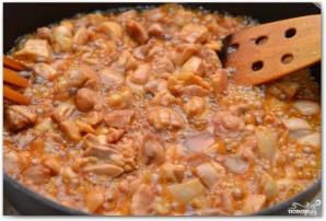 Паста с курицей и медом - фото шаг 6