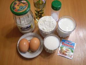 Оладушки на кислом кефире - фото шаг 1