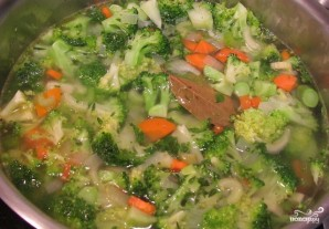 Вегетарианский суп-пюре из брокколи - фото шаг 3