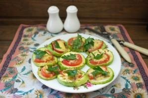 Кабачки в духовке с помидорами и сыром - фото шаг 6