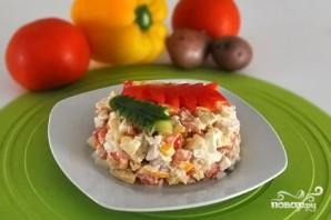 Салат из свинины и овощей - фото шаг 5
