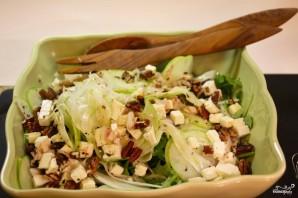 Салат с фенхелем и яблоком - фото шаг 6