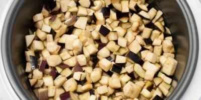 Соте из баклажанов на зиму - фото шаг 4