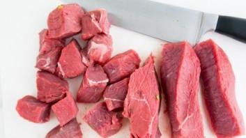 Шашлык из говядины с луком и перцем - фото шаг 3