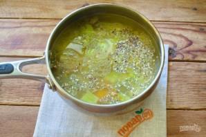 Грибной суп с лисичками - фото шаг 5