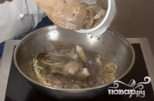Суп из морепродуктов (Cacciucco alla livornese) - фото шаг 6