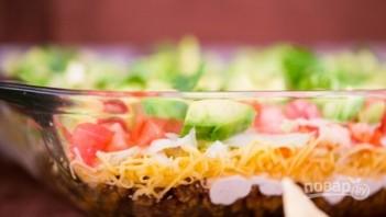 Салат с творогом - фото шаг 9