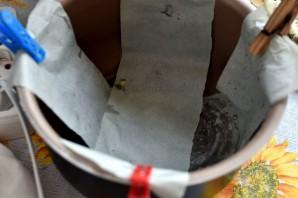 Наливной пирог с тунцом и помидорами в мультиварке - фото шаг 4