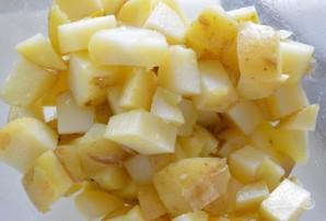 Салат из картофеля и кукурузы - фото шаг 3