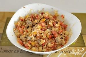 Салат из свинины и овощей - фото шаг 4