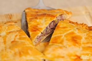 Мясной пирог с картофелем - фото шаг 11