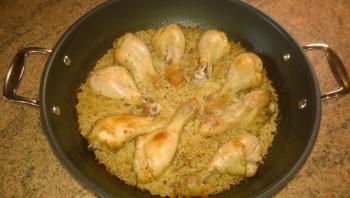 Курица с рисом в пиве - фото шаг 3