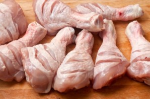 Курица в имбирно-медовом соусе - фото шаг 3