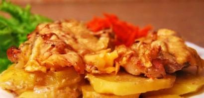 Запеченный картофель со свининой - фото шаг 4
