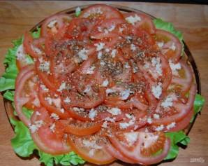 Слоеный салат с шампиньонами - фото шаг 5