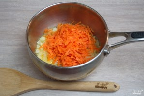 Сливочный томатный суп с базиликом  - фото шаг 3