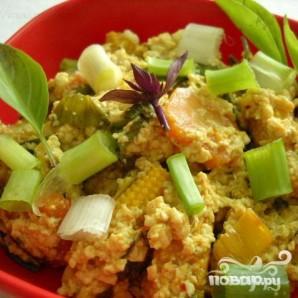 Тофу с овощами - фото шаг 8