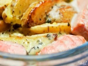 Рыба по-французски с картошкой - фото шаг 8