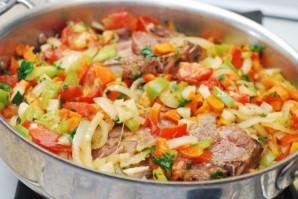 Жаркое из баранины с овощами   - фото шаг 9