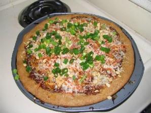 Тайская куриная пицца - фото шаг 15