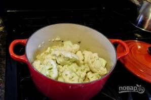 Сливочный суп с цветной капустой - фото шаг 3