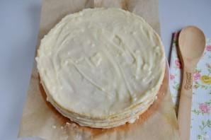 """Торт """"Наполеон"""" классический (из домашнего теста) - фото шаг 17"""
