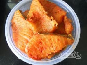 Рыба с пряным рисом и орехами - фото шаг 1