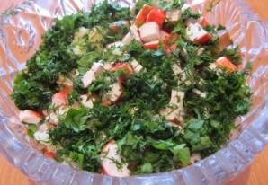 Салат деревенский с грибами - фото шаг 4
