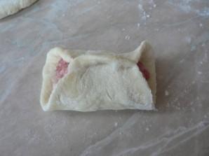 Манты с фаршем и картошкой - фото шаг 6