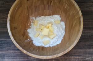 Галеты с сыром - фото шаг 1