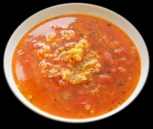 Чечевичный томатный суп - фото шаг 7