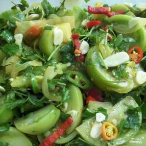 Закуска из зеленых помидоров - фото шаг 8